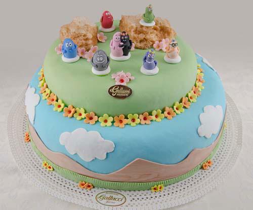 Foto della torta di Barbapapa n.41