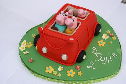 Foto della torta di Peppa Pig n.06