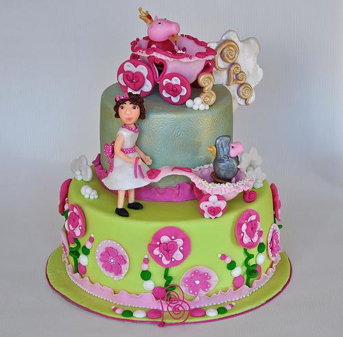 Foto della torta di Peppa Pig n.08