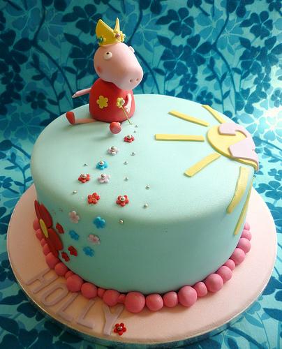 Foto della torta di Peppa Pig n.10