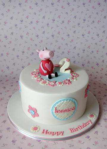 Foto della torta di Peppa Pig n.11