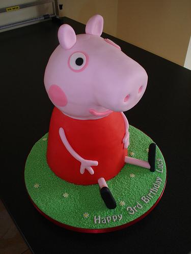Foto della torta di Peppa Pig n.12