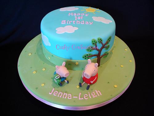 Foto della torta di Peppa Pig n.14