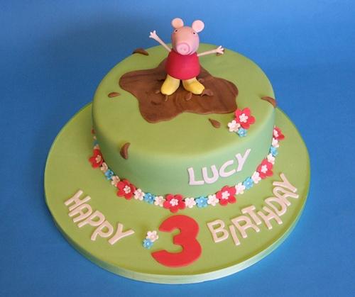Foto della torta di Peppa Pig n.15