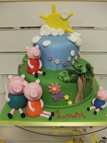 Foto della torta di Peppa Pig n.16