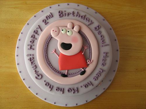 Foto della torta di Peppa Pig n.18