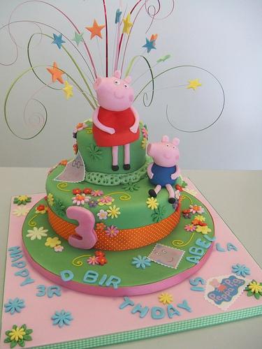 Foto della torta di Peppa Pig n.19