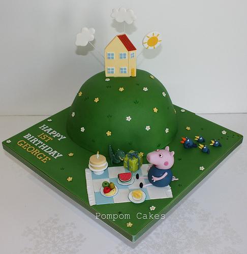 Foto della torta di Peppa Pig n.20