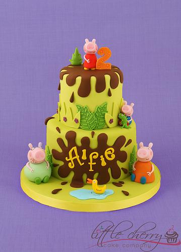 Foto della torta di Peppa Pig n.21