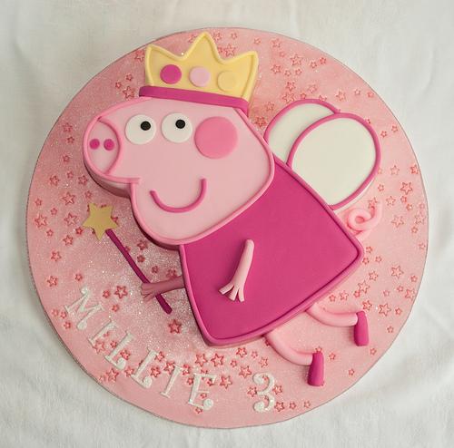 Foto della torta di Peppa Pig n.22