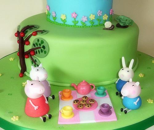 Foto della torta di Peppa Pig n.23