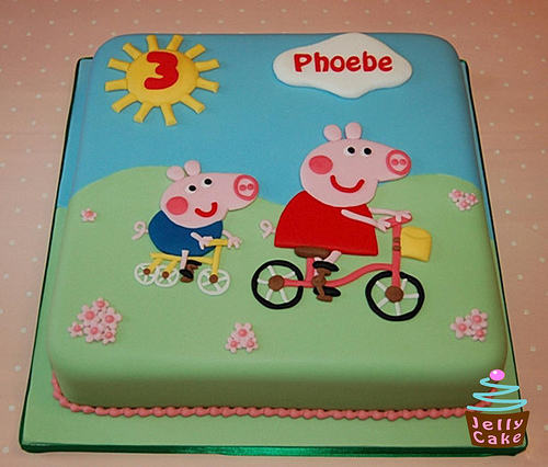 Foto della torta di Peppa Pig n.26