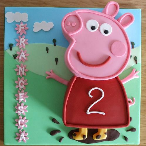 Foto della torta di Peppa Pig n.27