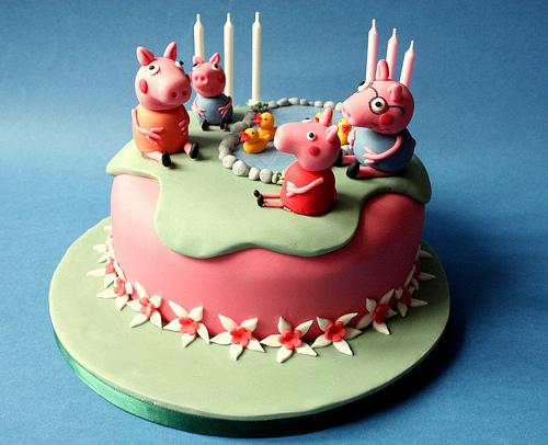 Foto della torta di Peppa Pig n.29