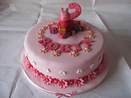 Foto della torta di Peppa Pig n.30
