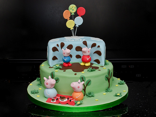 Foto della torta di Peppa Pig n.33