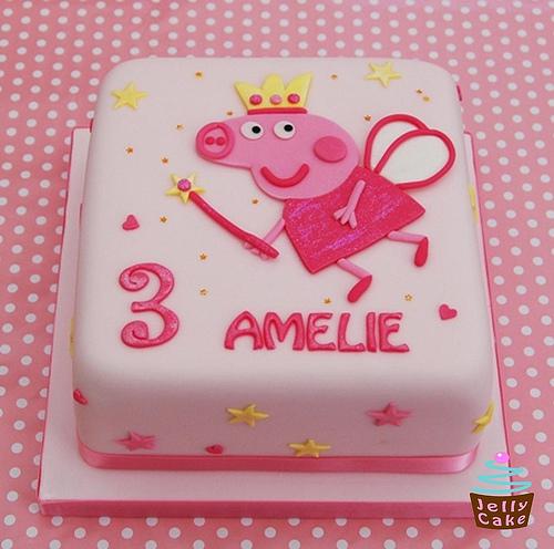 Foto della torta di Peppa Pig n.34
