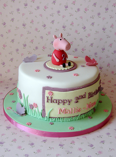 Foto della torta di Peppa Pig n.35