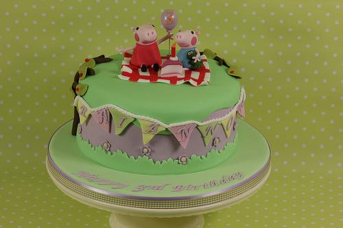 Foto della torta di Peppa Pig n.36