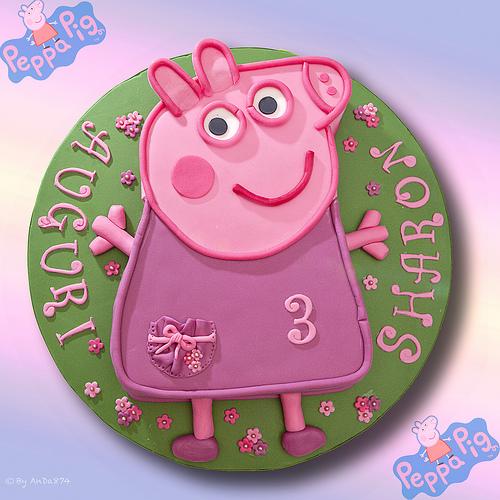 Foto della torta di Peppa Pig n.37