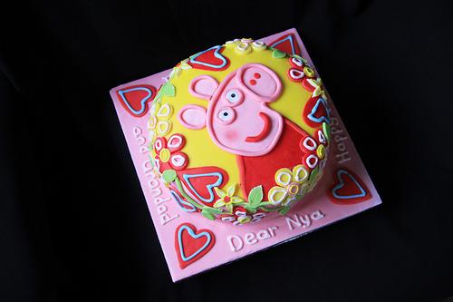 Foto della torta di Peppa Pig n.38