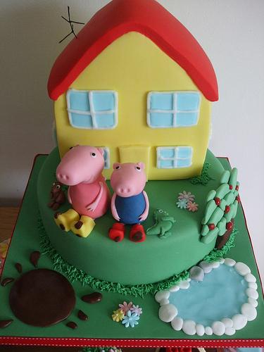 Foto della torta di Peppa Pig n.39