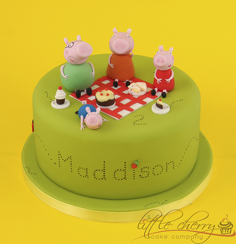 Foto della torta di Peppa Pig n.40