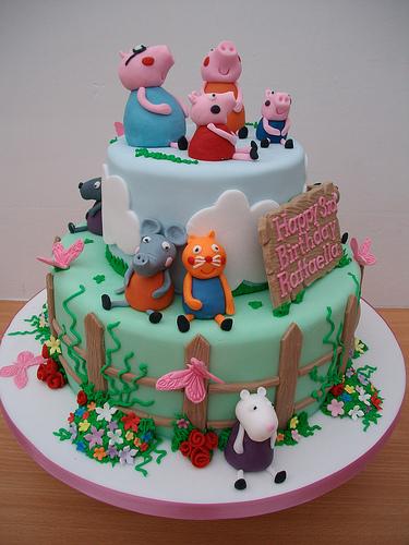 Foto della torta di Peppa Pig n.41