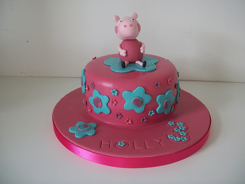 Foto della torta di Peppa Pig n.43