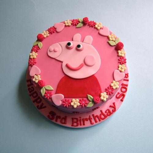 Foto della torta di Peppa Pig n.44