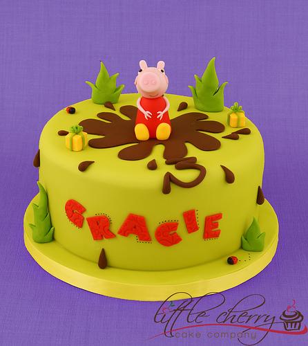 Foto della torta di Peppa Pig n.45