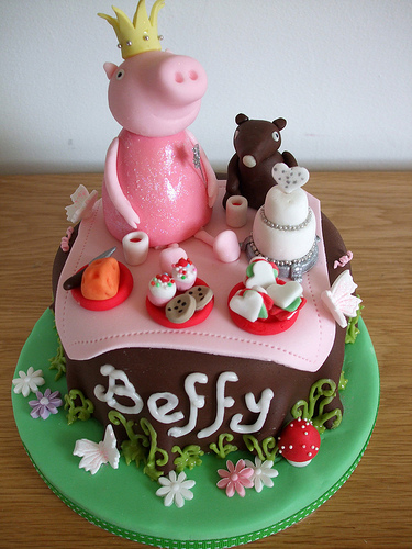 Foto della torta di Peppa Pig n.46