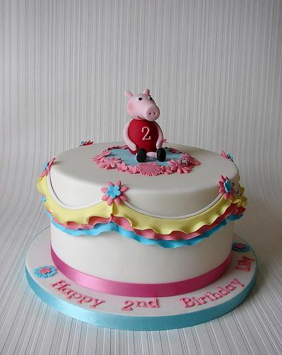 Foto della torta di Peppa Pig n.47