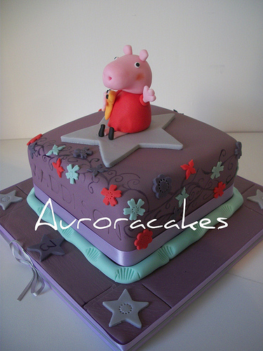 Foto della torta di Peppa Pig n.48