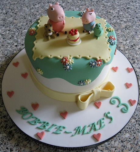 Foto della torta di Peppa Pig n.49