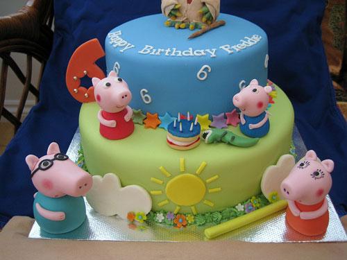 Foto della torta di Peppa Pig n.51