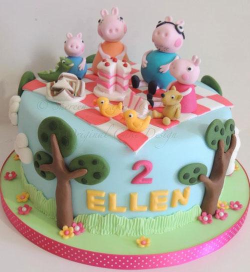 Foto della torta di Peppa Pig n.52
