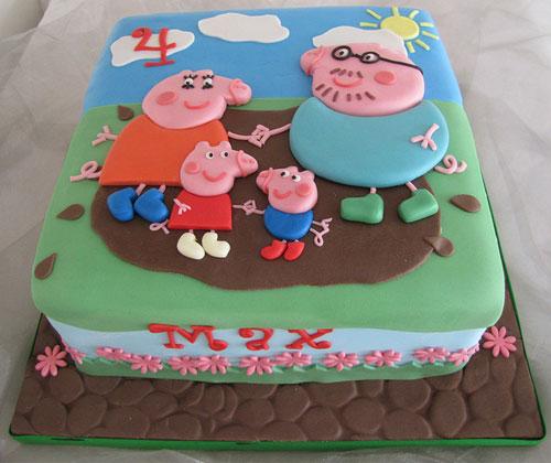 Foto della torta di Peppa Pig n.53