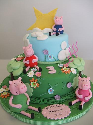 Foto della torta di Peppa Pig n.54