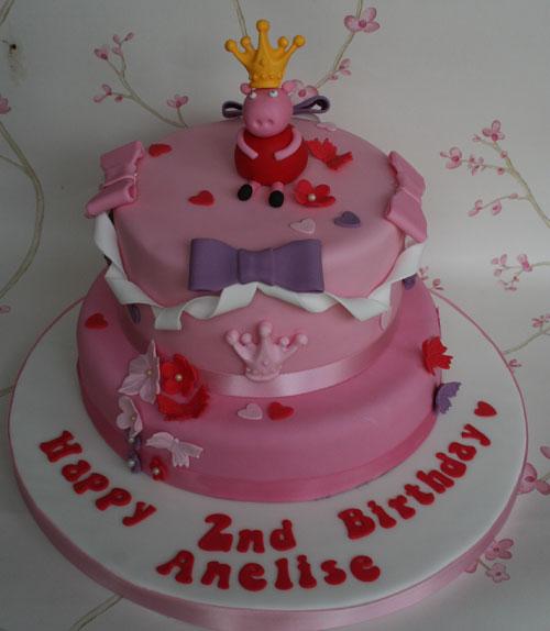 Foto della torta di Peppa Pig n.55