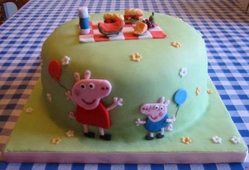Foto della torta di Peppa Pig n.56