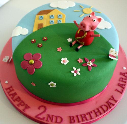 Foto della torta di Peppa Pig n.57
