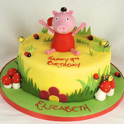 Foto della torta di Peppa Pig n.59