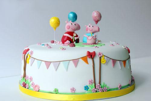 Foto della torta di Peppa Pig n.60