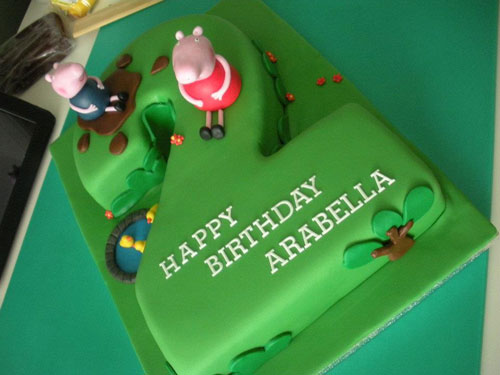 Foto della torta di Peppa Pig n.61