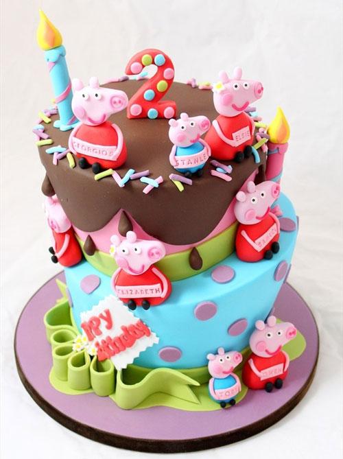Foto della torta di Peppa Pig n.63