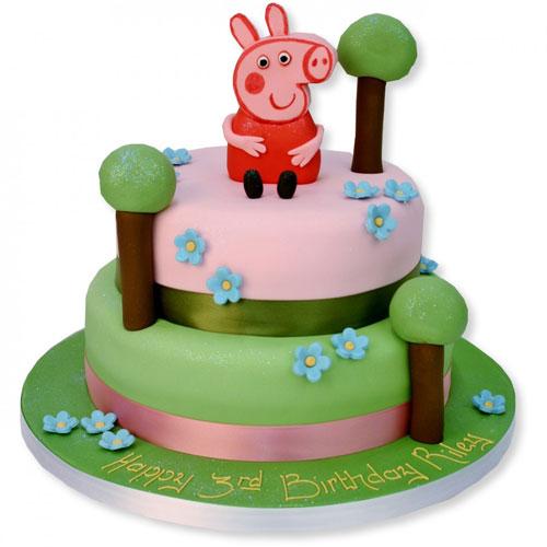 Foto della torta di Peppa Pig n.64
