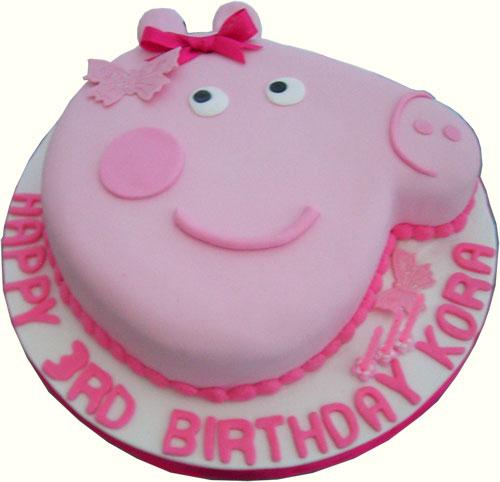 Foto della torta di Peppa Pig n.65