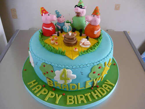 Foto della torta di Peppa Pig n.66