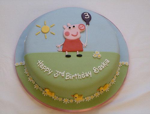 Foto della torta di Peppa Pig n.67